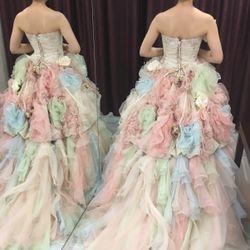 ♡カラードレス試着♡の写真 11枚目