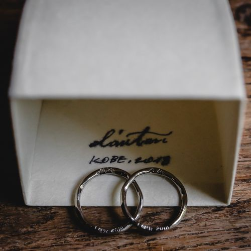 お気に入りの指輪の写真 1枚目