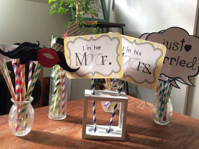 自由学園明日館での結婚式―フォトプロップス