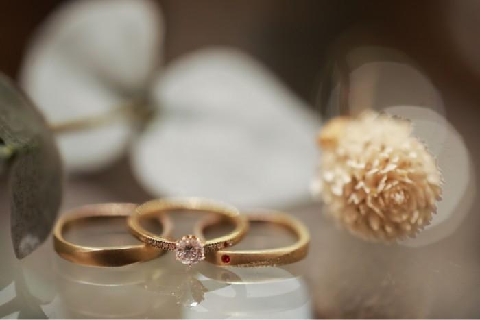 【結婚指輪】オーダーメイドで創った世界で一つの結婚指輪の実例画像集のカバー写真