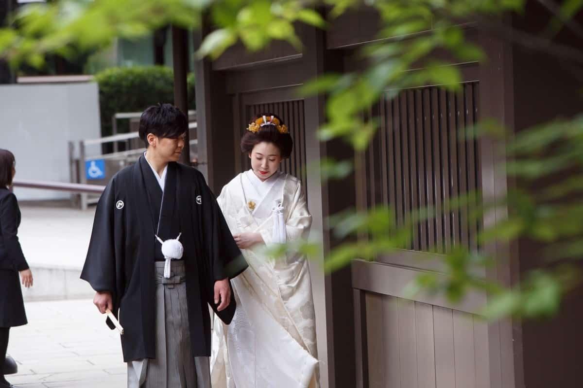 【東京】神前式、神社結婚式にぴったり!和婚が叶う人気神社特集のカバー写真