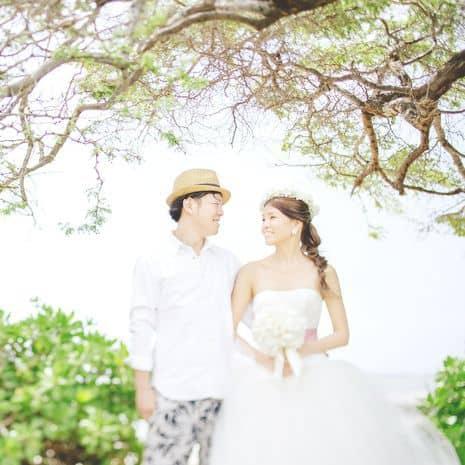 先輩花嫁のハワイ挙式レポ♡キャルバリー・バイ・ザ・シー教会のカバー写真
