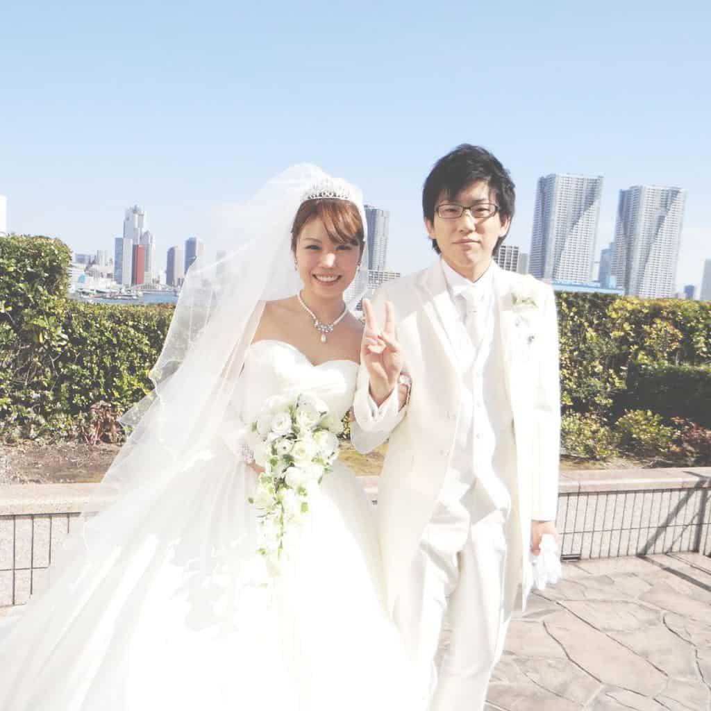 先輩花嫁の結婚式レポ♡ホテルインターコンチネンタル東京ベイのカバー写真