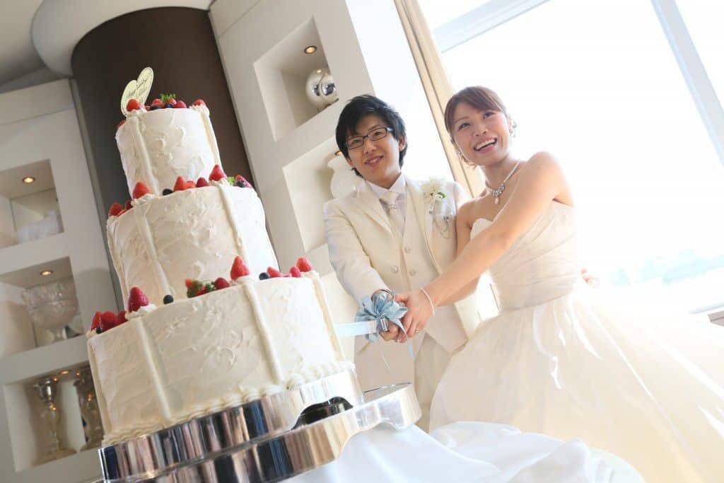 インターコンチネンタル東京 ケーキカット