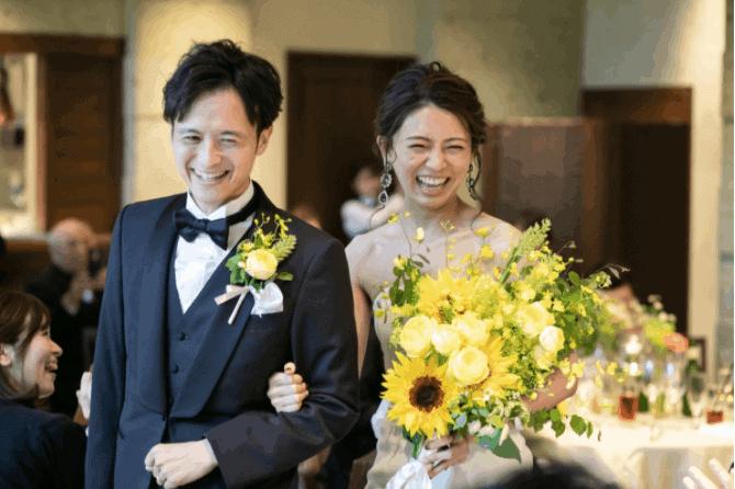 【2020年最新】結婚式の披露宴入場曲32選♡盛り上がる&感動できるおすすめ曲も紹介のカバー写真