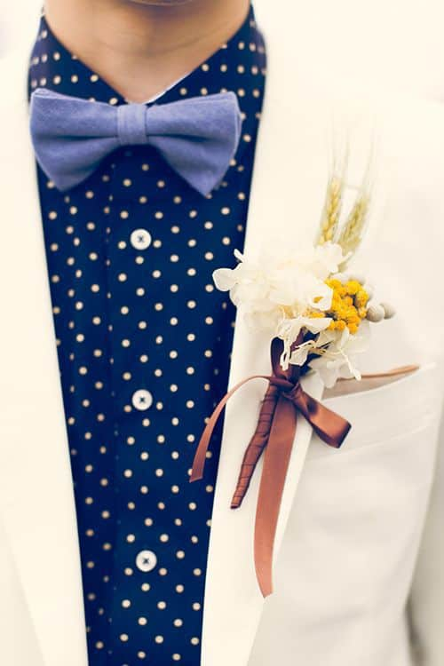《結婚式新郎衣装》トレンド重視派?それとも正統派?参考にしたいタキシードコーディネート!のカバー写真