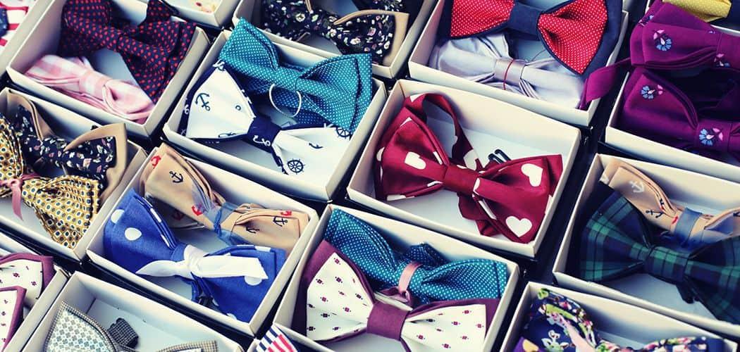 【簡単】おしゃれな蝶ネクタイの作り方♪のカバー写真