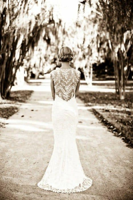 bride-beautiful-dress-looking-at-path-ahead