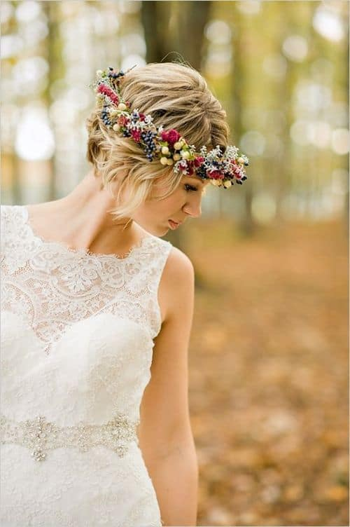Short-Hair-Wedding-Inspiration-Paper-Lace23