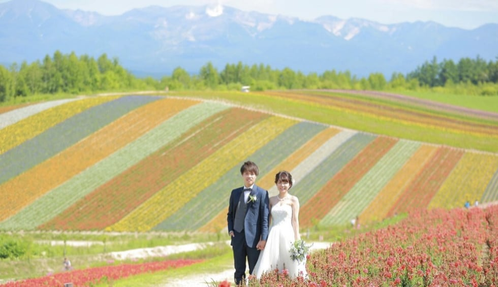 国内の新婚旅行なら、観光もグルメも満喫できる北海道がオススメ!のカバー写真 0.576530612244898