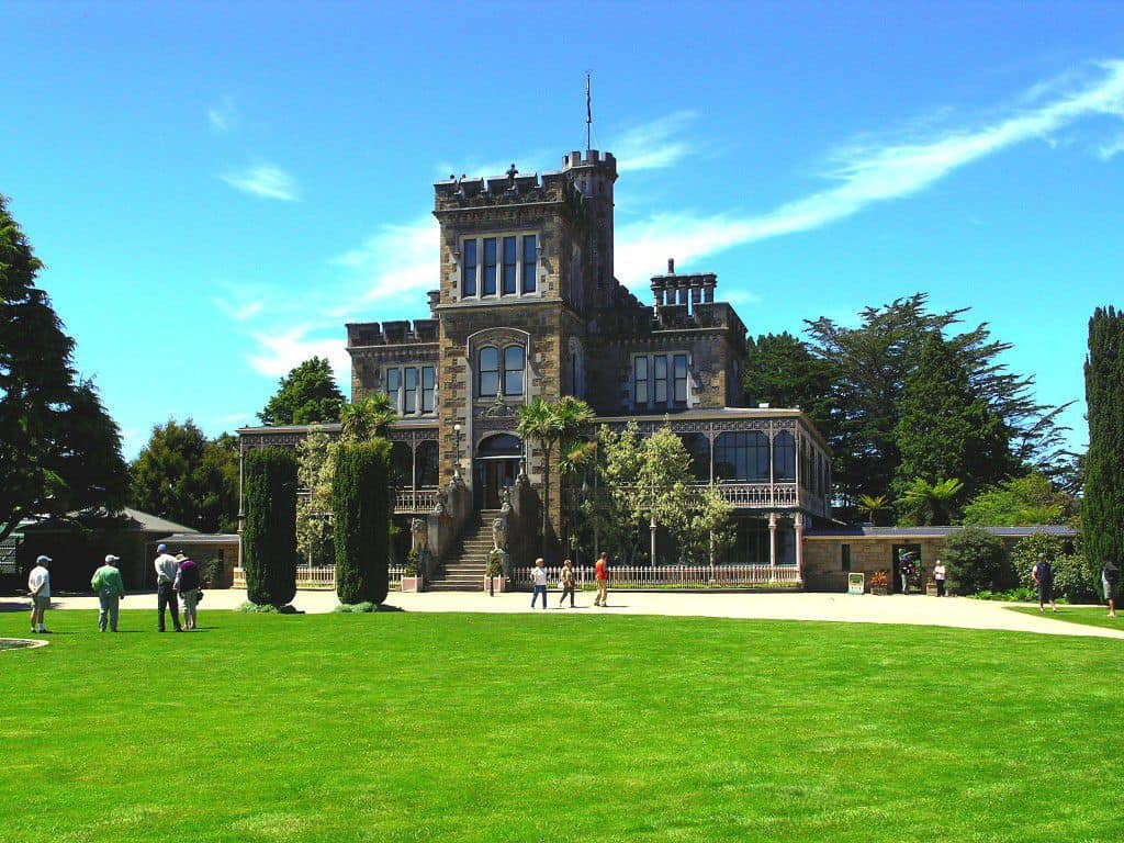 Larnach Castle, Otago Peninsula, Dunedin, New Zealand
