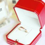 【婚約・結婚指輪】カルティエのトリニティリング特徴・価格まとめ