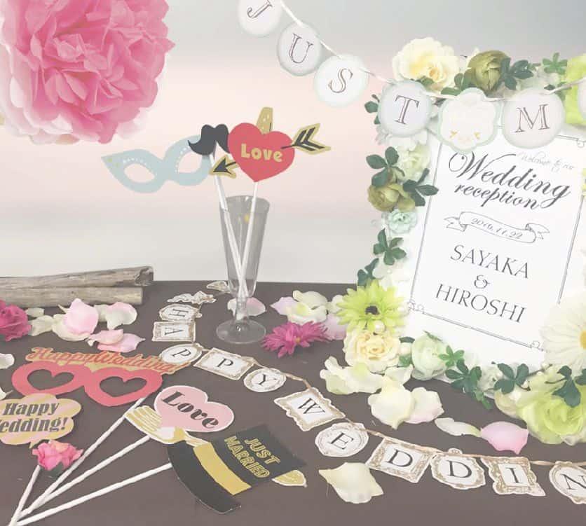 100均アイテムで手作りしよう!結婚式ウェルカムスペースのアイデア特集のカバー写真