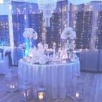 【ブルー×ホワイト×冬】でちょっぴりゴージャスな冬ウエディングを♡