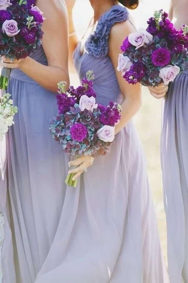 use-multiple-hues-of-the-same-color-dream-wedding-pinterest