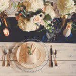 【ネイビー×シルバー】がテーマの結婚式で海外風ウェディングを目指しましょ♡
