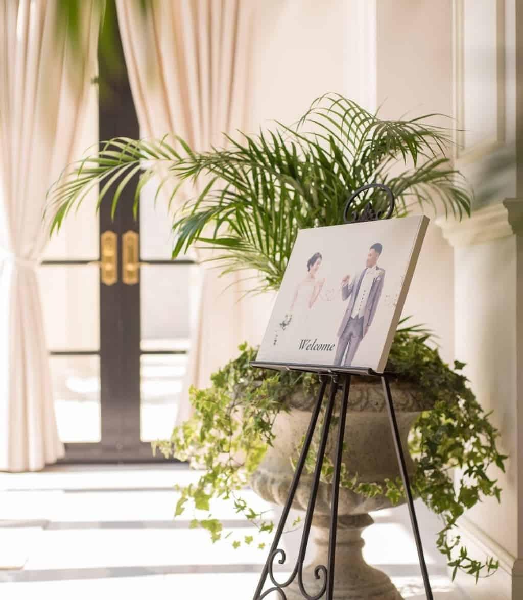 結婚式のウェルカムボード手作りマニュアル♡ゲストを可愛くおしゃれにお出迎え♩のカバー写真 1.1474609375