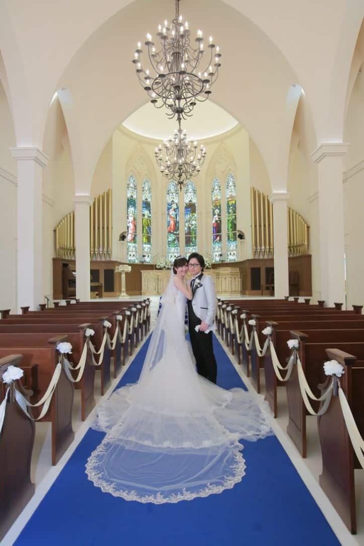 艶やかにマーメイドドレスを着こなす長身花嫁!【yukari.happinessさん】アニヴェルセル豊洲のカバー写真