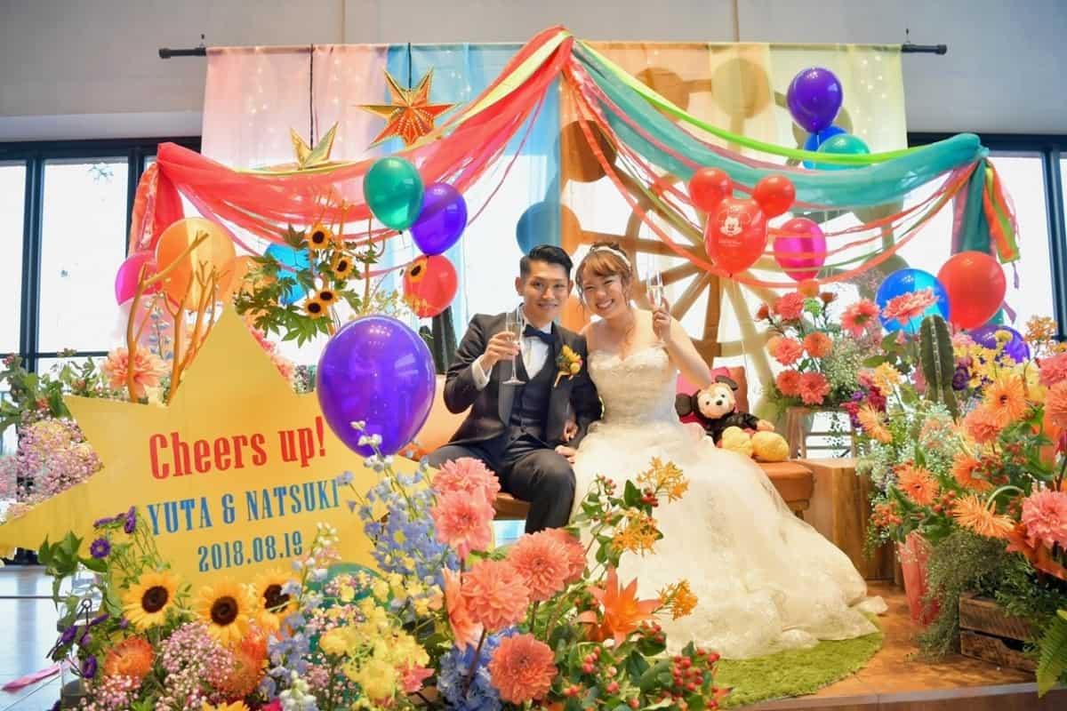 【カラー別】オシャレでかわいい♡結婚式の高砂アイディア特集♩のカバー写真