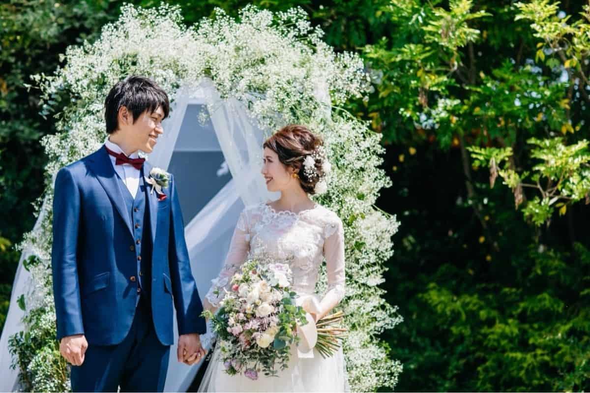 結婚式での「人前式」ってナニ?を解決!魅力たっぷりの人前式を解説♡のカバー写真 0.6658333333333334
