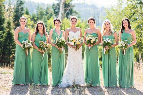 bridesmaid-dresses-green