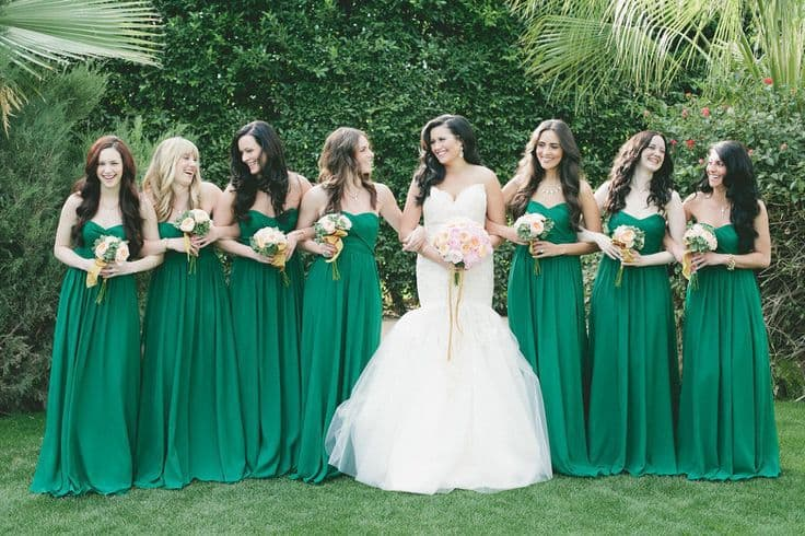 forest-green-bridesmaid-dresses