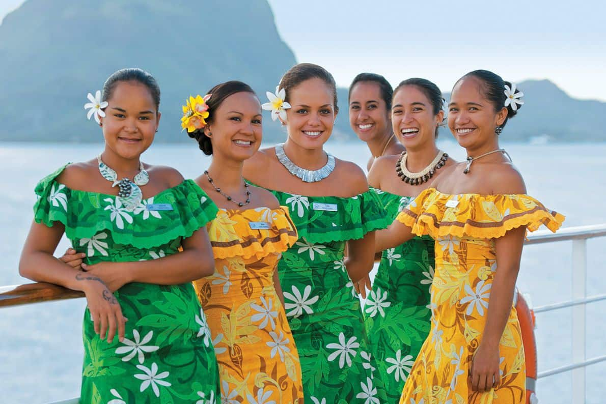 Take in a show in Le Grand Salon or on the pool deck and learn how to dance in true Polynesian style from our wonderful Gauguines.