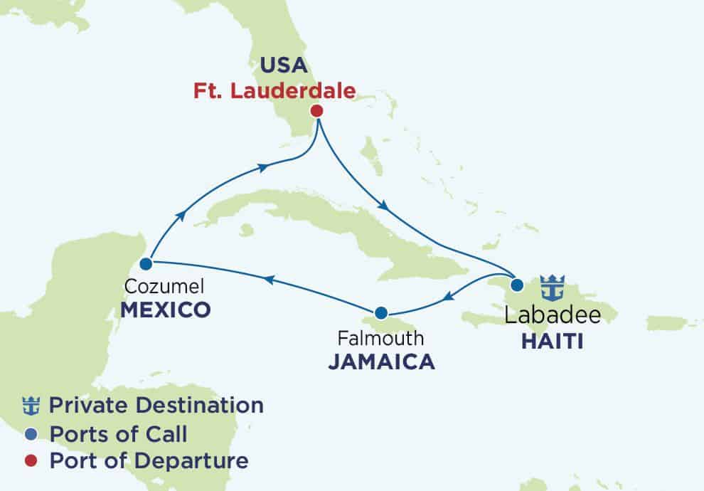 7N_Western Caribbean_Fort Lauderdale