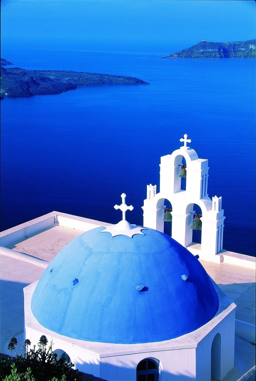 Greece, Santorini, the Belfry bell tower