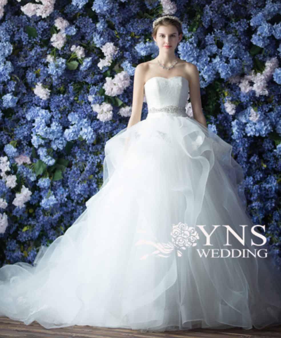 【プリンセスライン】YNS WEDDINGドレスカタログ*のカバー写真