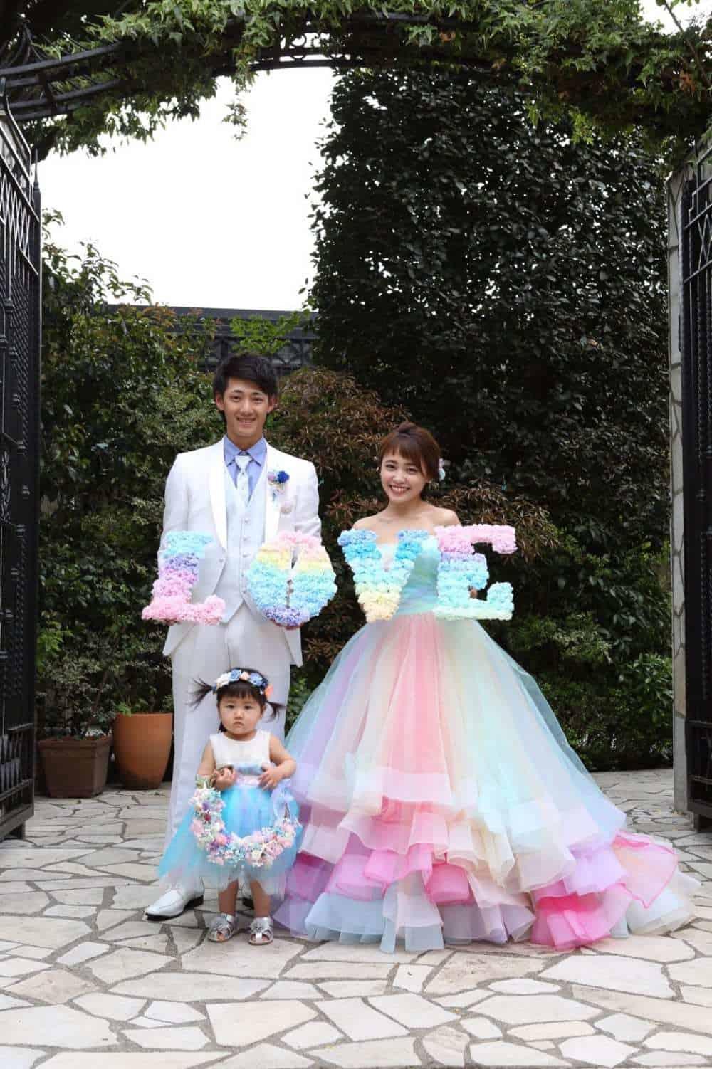 結婚式レポ♡パトリックキソガーデン町田♡yyy_weddingさん(フォトレポート)のカバー写真