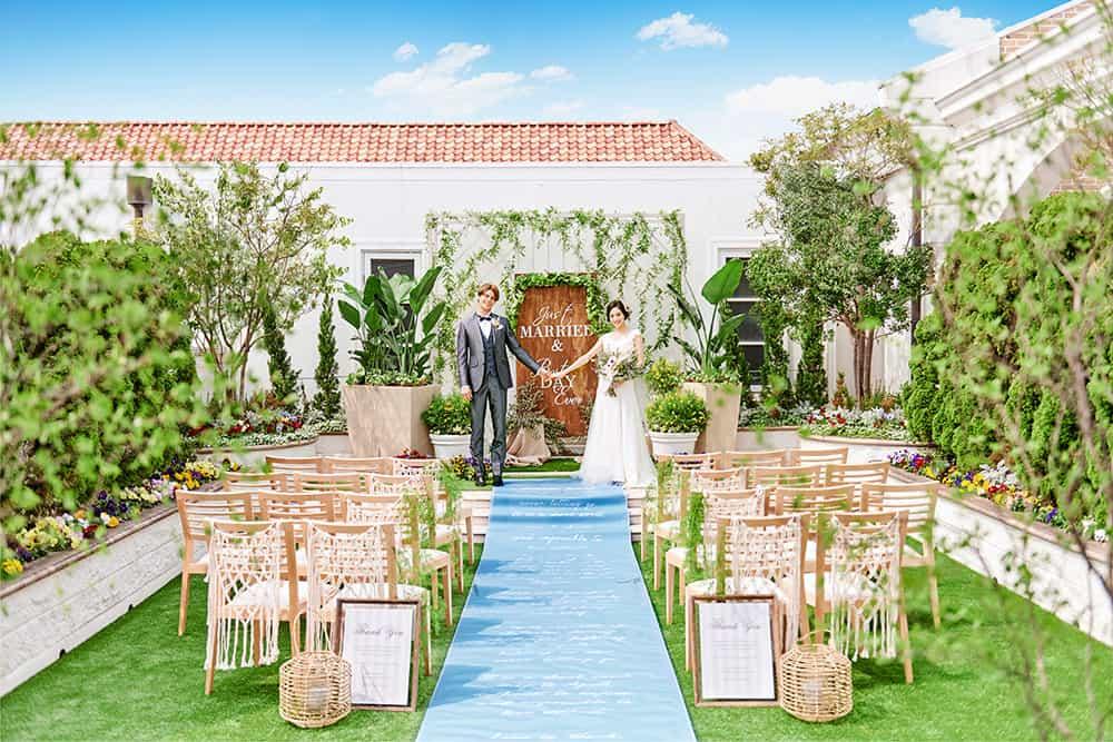 【関西編】インスタ花嫁が選んだ\ナチュラル(グリーン)**/にぴったりの結婚式場ランキングのカバー写真