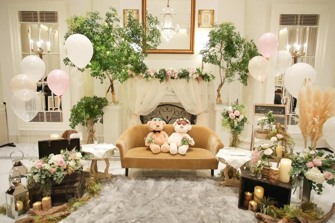 【最新版】高砂ソファアイデア40選!結婚式のテイスト別に紹介♡のカバー写真 0.6666666666666666