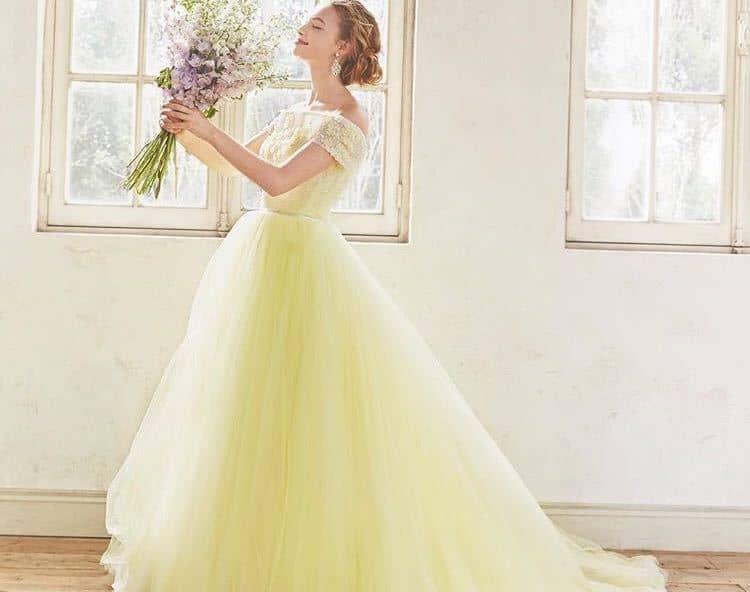【2020年版】結婚式のお色直しに♩憧れカラードレス28選♡のカバー写真