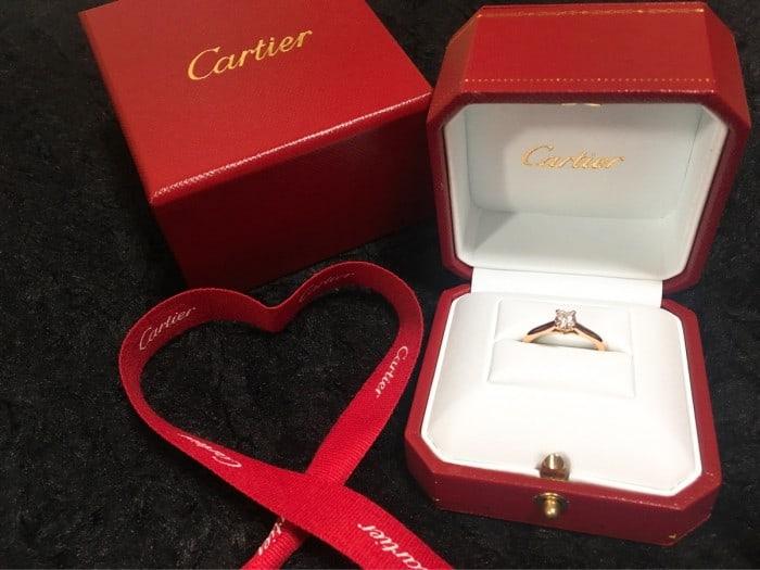 王道の婚約指輪♡【カルティエソリテール1895】の特徴と価格*のカバー写真 0.75
