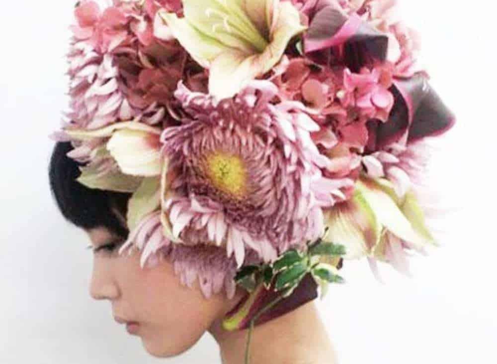 『花結い師』TAKAYAさんの芸術的花結いヘアスタイル画像集*のカバー写真 0.731