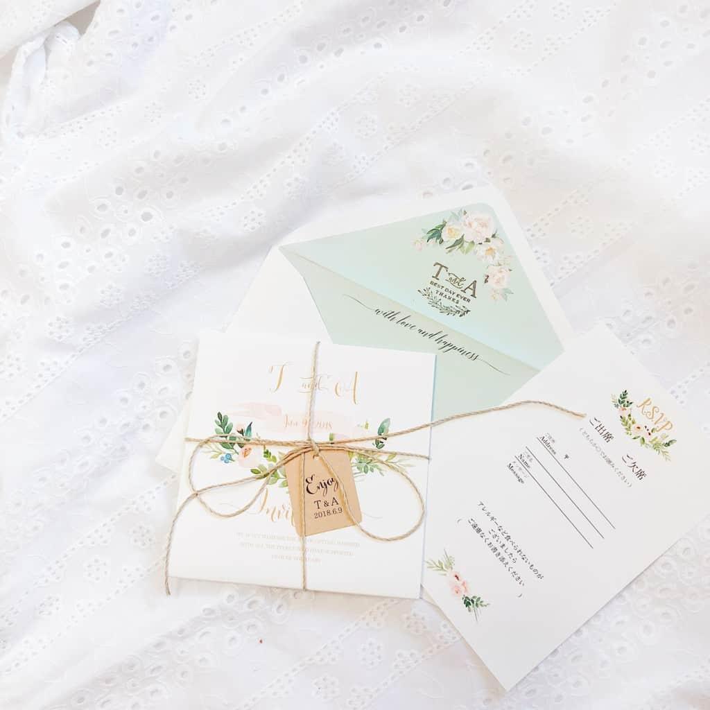 結婚式のおすすめメッセージカードと相手別*文例50選のカバー写真