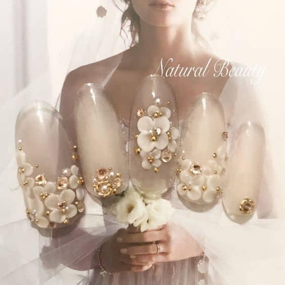 【結婚式のネイルマナー】ブライダルネイル・お呼ばれネイル人気デザイン特集2019のカバー写真 1