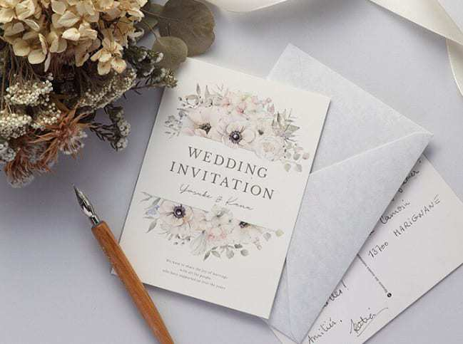 結婚式の招待状返信マナー*妊娠中の場合の書き方や、返信アートもご紹介のカバー写真