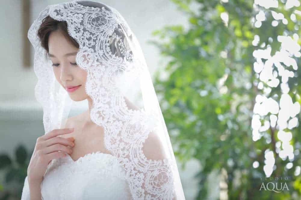 神秘的【マリアベール】の美しいデザインと相性の良い髪型やドレス☆のカバー写真