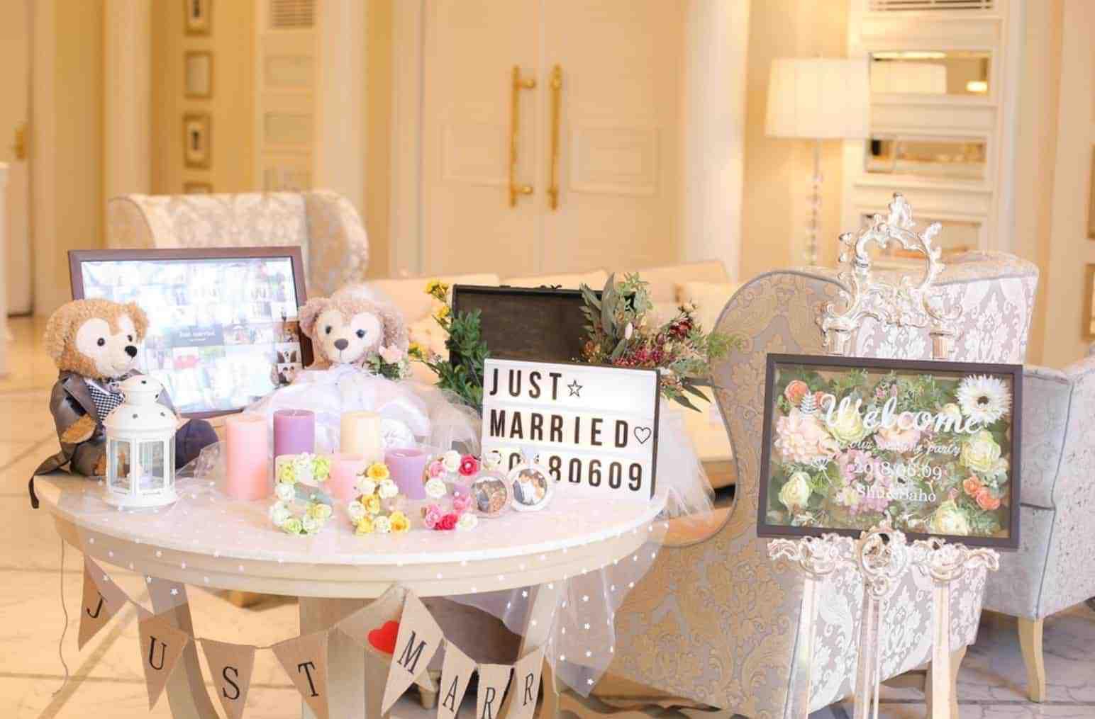 おしゃれなウェルカムスペース大特集!結婚式で真似したい、飾るコツやアイテムって?のカバー写真