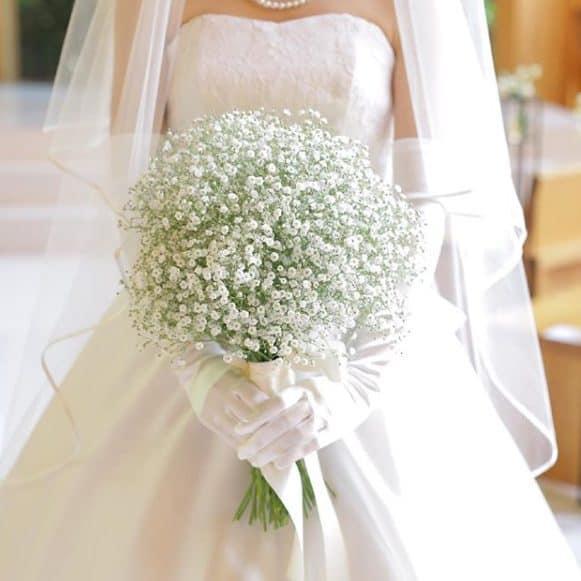 結婚式でも大活躍!かすみ草の花言葉や魅力、アイディア*30選♡のカバー写真