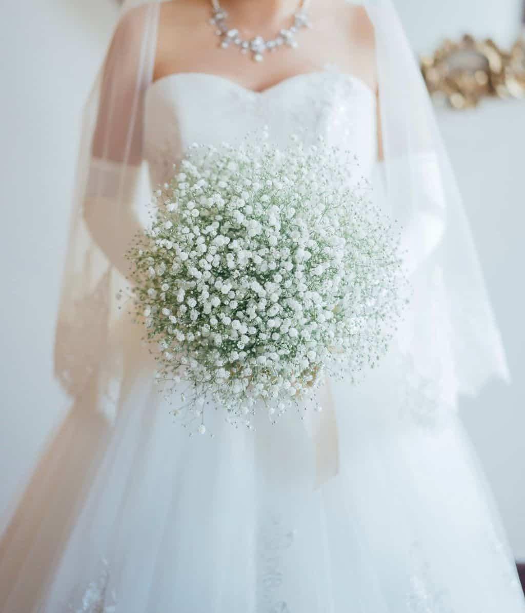 結婚式でも大活躍!かすみ草の花言葉や魅力、アイディア*30選♡のカバー写真 1.1669921875