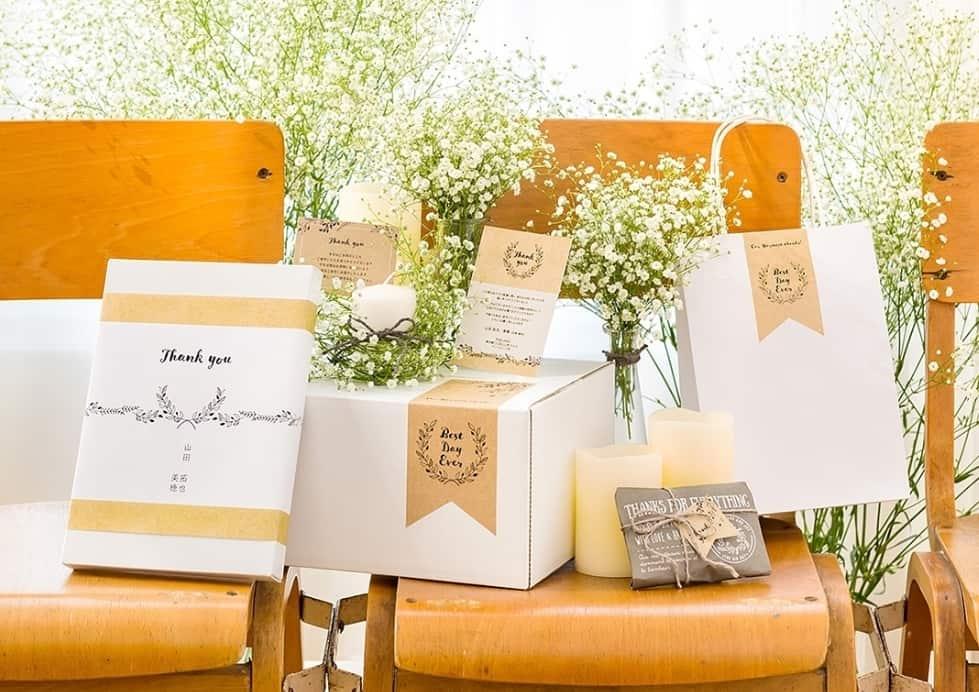 ゲストにも優しい♡結婚式の引き出物は宅配で送ろう**のカバー写真