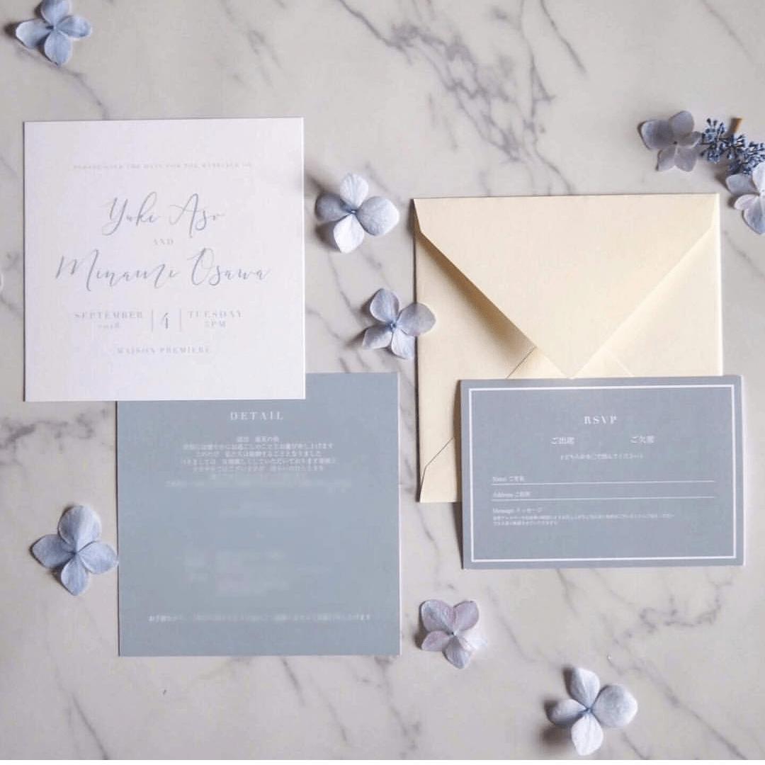 結婚式の招待状はおしゃれがいい♡デザイン25選まとめのカバー写真