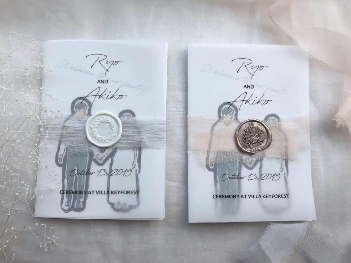 両家顔合わせを控える花嫁必見!【顔合わせのしおり】作り方とデザインまとめ*のカバー写真