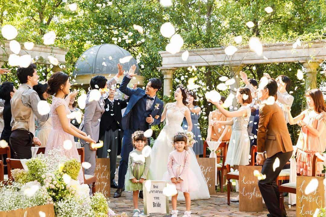 \\ 開放感抜群 // ガーデンウェディングの魅力大公開!!のカバー写真