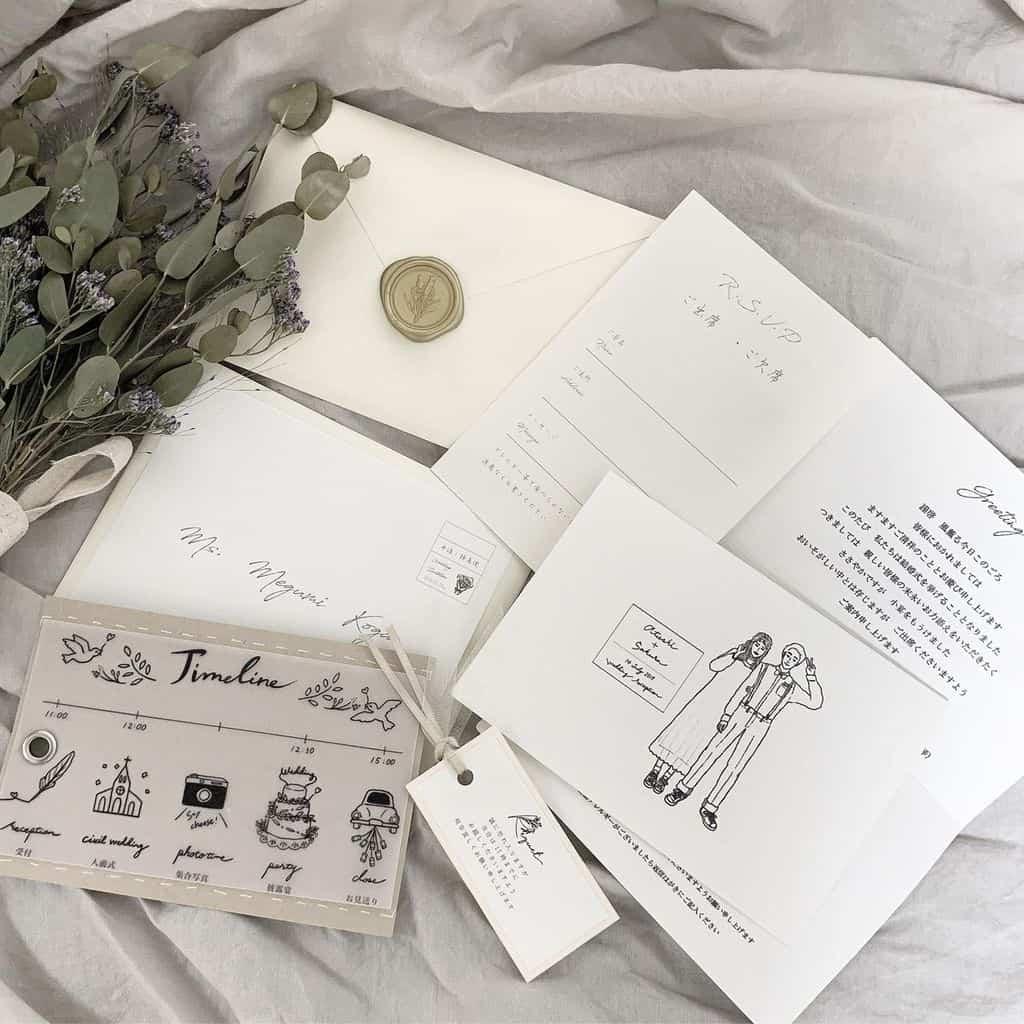 文例あり♡会費制結婚式の招待状の作り方マナーのカバー写真 1