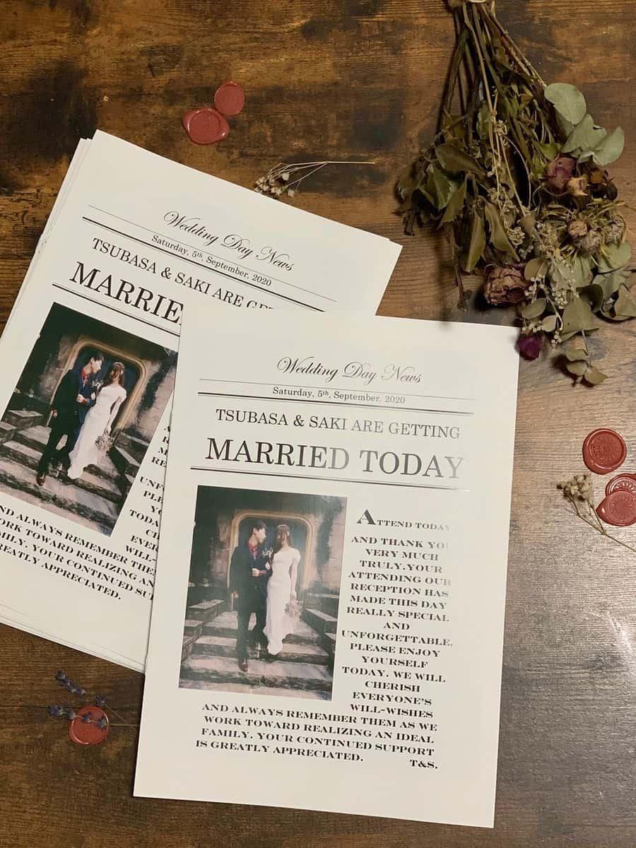 ここを抑えるだけ♪ゲストに褒めてもらえる結婚式プロフィールのカバー写真 1.3333333333333333