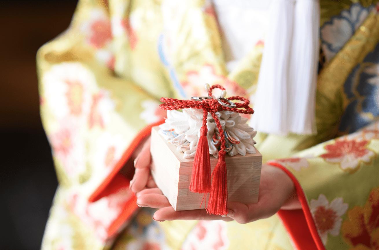 和婚花嫁さん必見♡おしゃれな和風リングピロー15選のカバー写真
